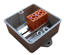 Hensel with Orange Blocks Junction Boxes